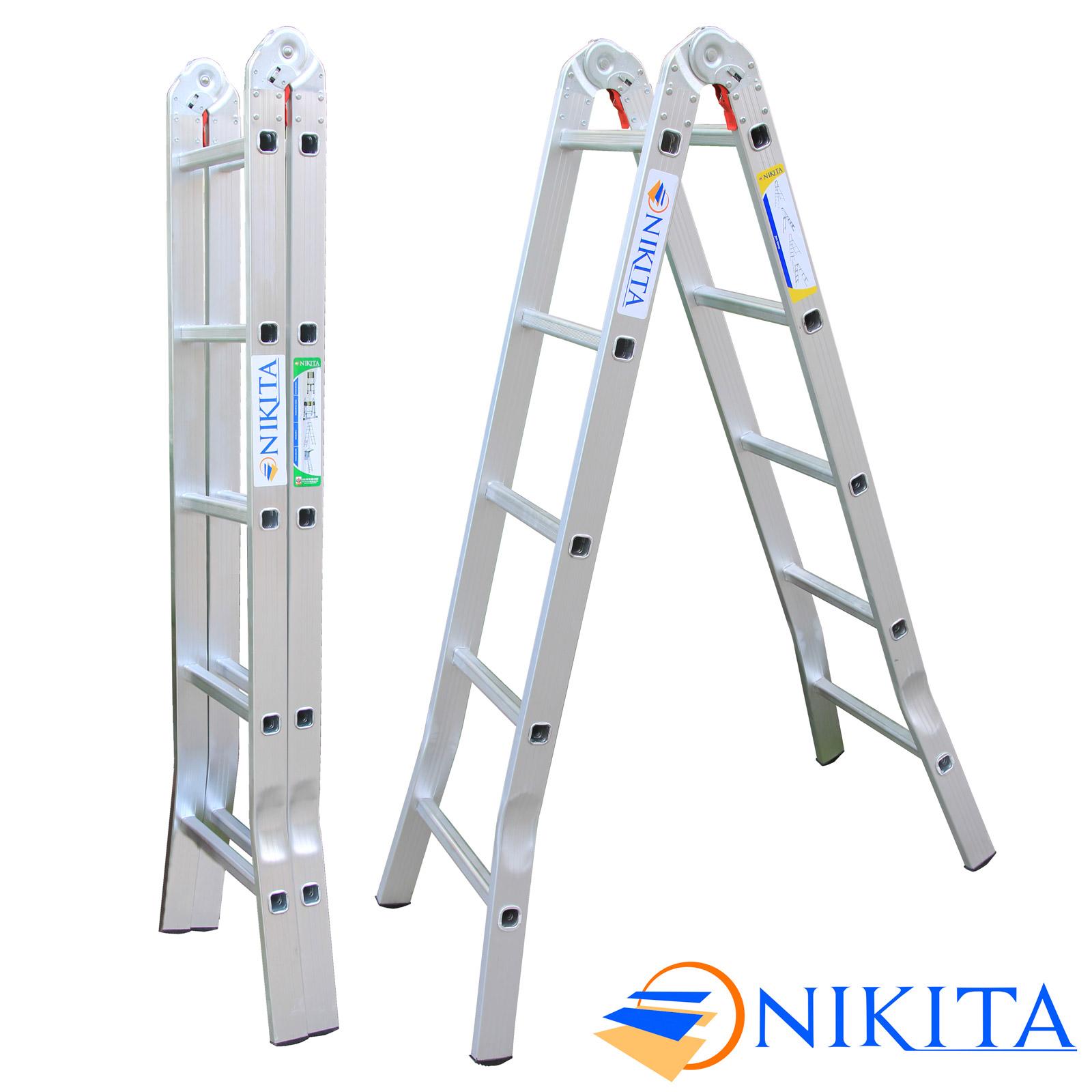 thang nhôm chữ a nikita A15