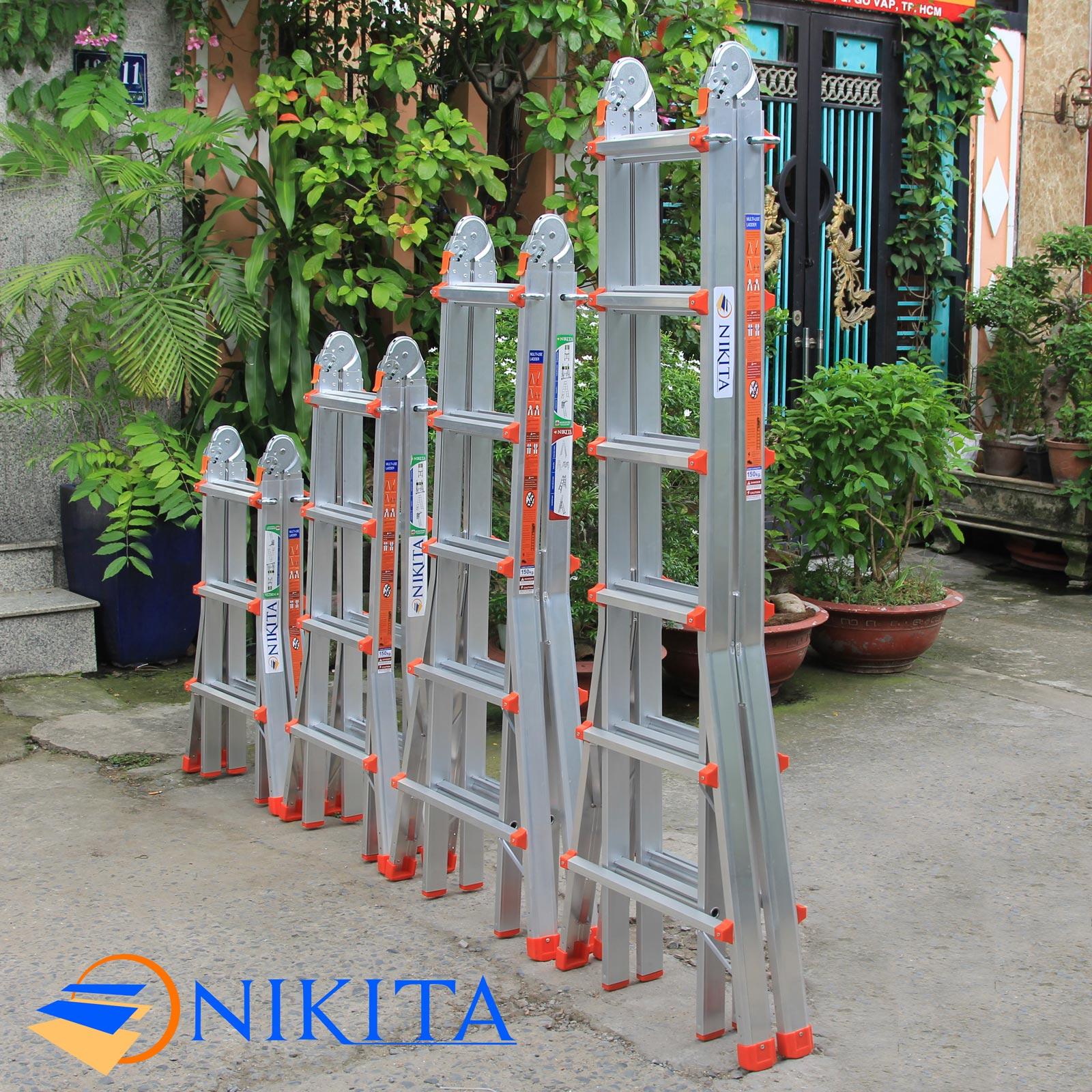 thang nhom gấp chữ a nikita