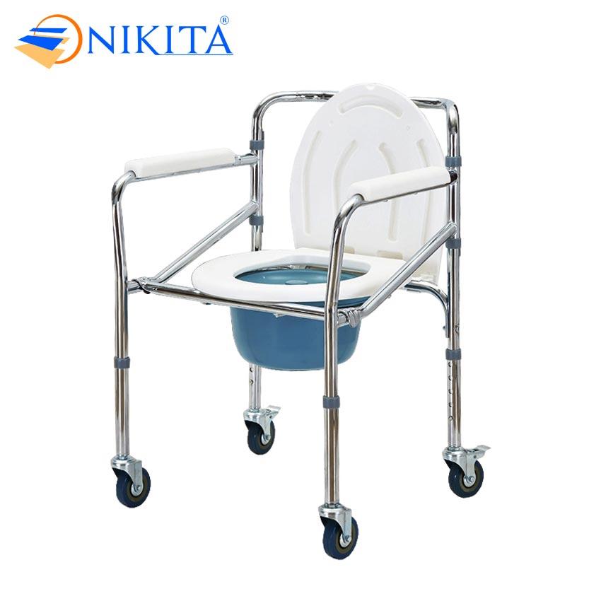 Ghế bô vệ sinh cho người già NIKITA