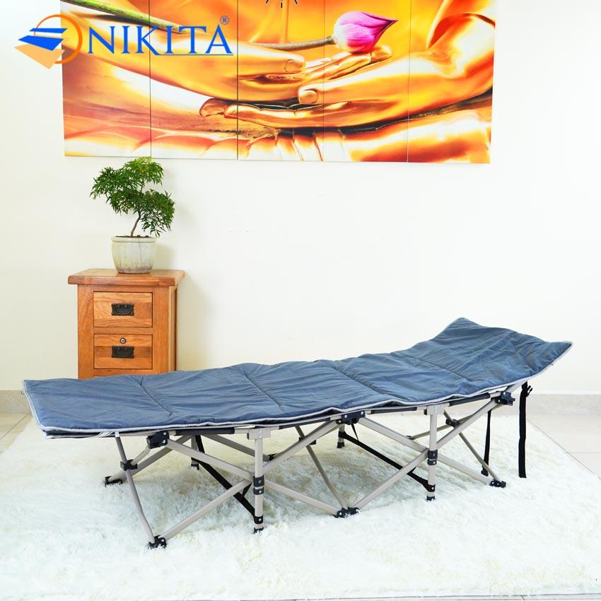 Giường xếp NIKITA gấp gọn vải bạt thái lan TT01